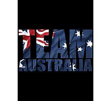 Team Australia Photographic Print