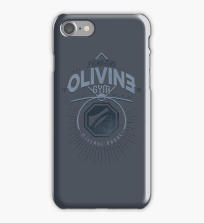Olivine Gym iPhone Case/Skin