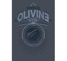 Olivine Gym Photographic Print