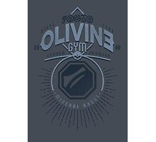 Olivine Gym Photographic Print