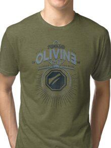 Olivine Gym Tri-blend T-Shirt