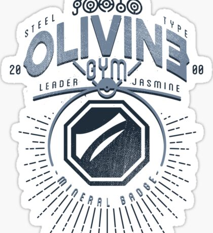 Olivine Gym Sticker