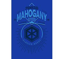 Mahogany Gym Photographic Print