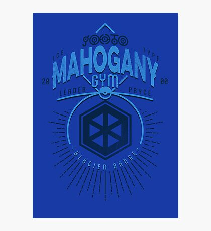 Mahogany Gym Photographic Print