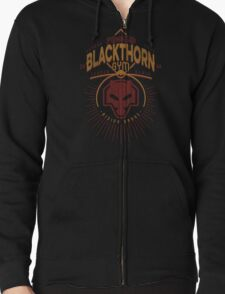 Blackthorn Gym Zipped Hoodie