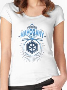 Mahogany Gym Women's Fitted Scoop T-Shirt