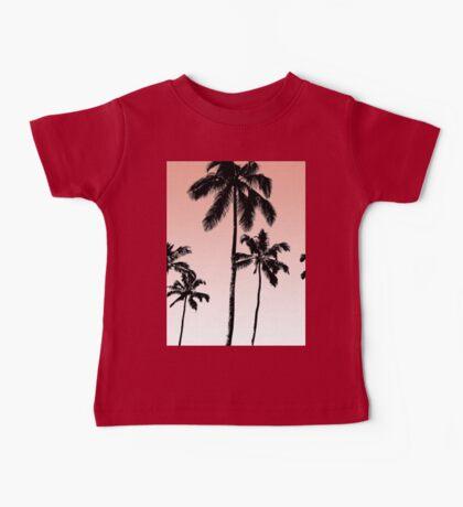 Sunset palms Baby Tee