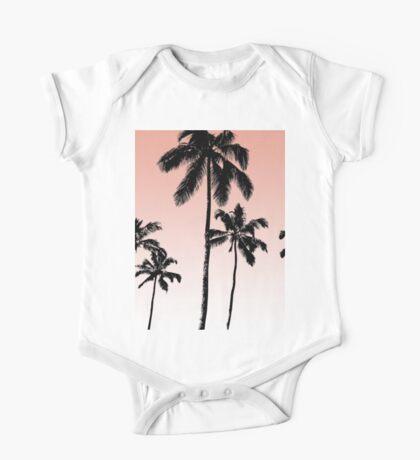 Sunset palms One Piece - Short Sleeve
