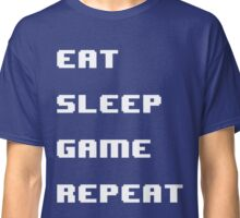 Eat Sleep Game Repeat T Shirt Gift For Gamer Gaming Lover Classic T-Shirt