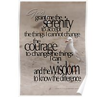 Serenity Prayer 01 © Vicki Ferrari Photography Poster