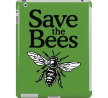 Save The Bees Beekeeper Quote Design iPad Case/Skin