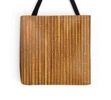 Orange Bamboo Tote Bag