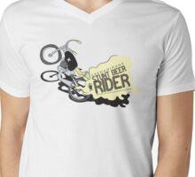Shenanigans - Stunt Beer Rider Mens V-Neck T-Shirt