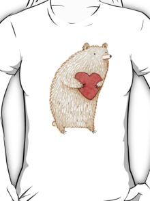 Bear with Heart T-Shirt