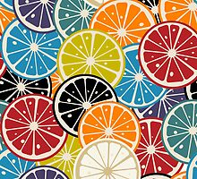 Citrus pattern by Richard Laschon