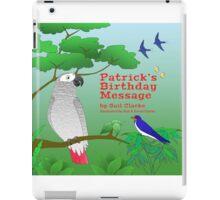 Patrick's Birthday Message iPad Case/Skin