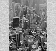 NYC II - B&W Zipped Hoodie