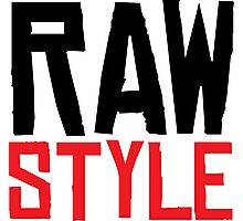 Raw Style Photographic Print