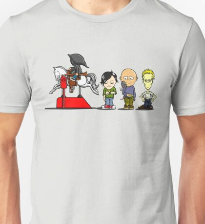 The Four Horsemen...in training Unisex T-Shirt