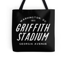 Griffith Stadium  Washington Tote Bag
