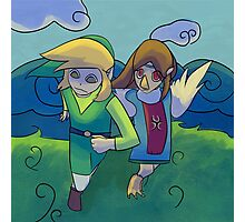 wind waker 4 2 refined... Photographic Print