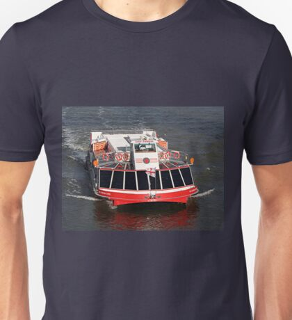 Cruise boat, River Thames, London Unisex T-Shirt