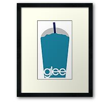 Glee Frozen Drink Slurpee Framed Print