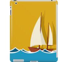 Sailing boat background iPad Case/Skin