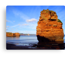 Ladram Bay Canvas Print