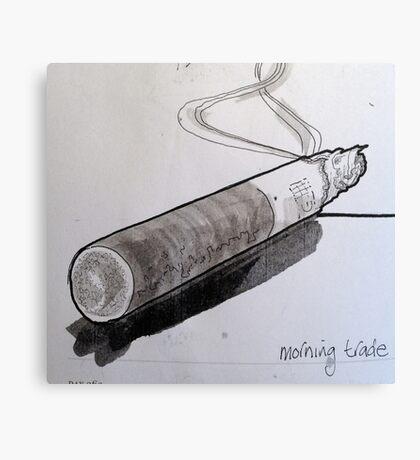 smoking! Canvas Print