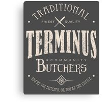 Terminus Butchers (light) Canvas Print