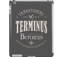 Terminus Butchers (light) iPad Case/Skin