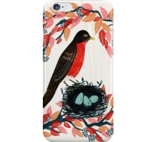 Robin's Nest by Andrea Lauren  iPhone Case/Skin