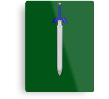 Legend Of Zelda Master Sword Metal Print