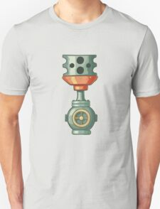 Original illustration of a steampunk styled pipe T-Shirt