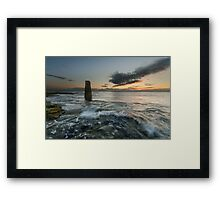 The Rangefinder and the Sunrise Framed Print