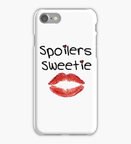 Spoilers Sweetie V2 ( Phone Cases ) iPhone Case/Skin