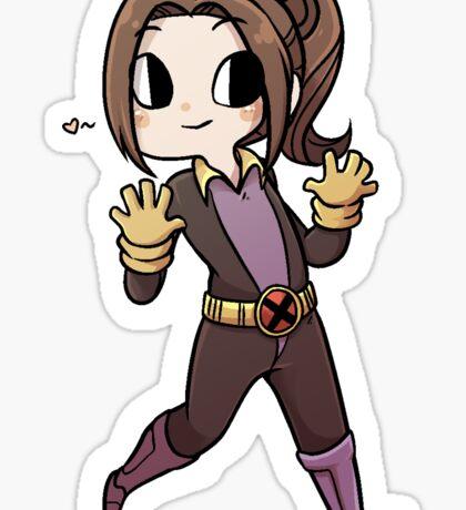 Shadowcat X-Men Evolution Sticker