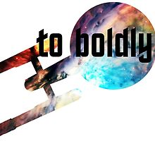 to boldly go by doitbrilliantly