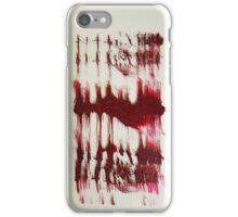 BLOOD INK iPhone Case/Skin