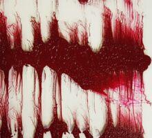 BLOOD INK Sticker