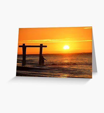 South West Gold. Hamelin Bay, Western Australia  Greeting Card