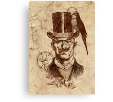 Extraordinary Gentleman Canvas Print
