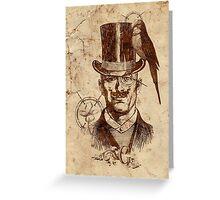 Extraordinary Gentleman Greeting Card