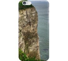 The cliffs at Bempton iPhone Case/Skin