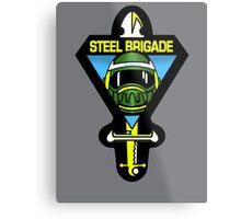 Steel Brigade Metal Print