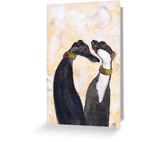 US TWO Greeting Card