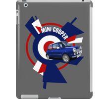 Classic Mini Cooper Illustrated T-shirt iPad Case/Skin