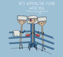 Wiping the floor by Andres Colmenares