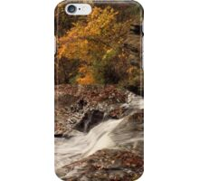 Falls at Wolf Creek iPhone Case/Skin